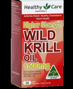 Dầu nhuyễn thể - thuoc Krill Oil healthy care- Úc