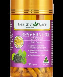 Viên uống Resveratrol - Healthy Care