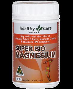 Thuốc chứa magie - Healthy Care Úc