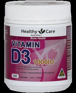 Thuốc vitamin D của Úc - Healthy Care
