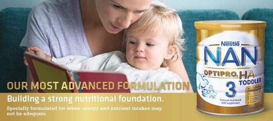 Sữa NAN comfort toddler Xuất xứ Úc