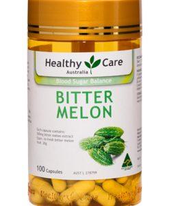 Viên uống trái khổ qua Healthy Care Bitter Melon 100 Viên