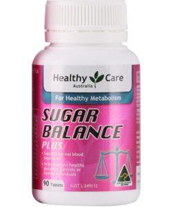 Xuất Xứ Úc Cân bằng đường trong máu healthy care sugar balance plus