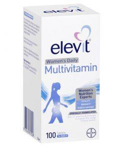 Viên uống Vitamin tổng hợp hàng ngày dành cho nữ Elevit 100 viên (100 ngày)